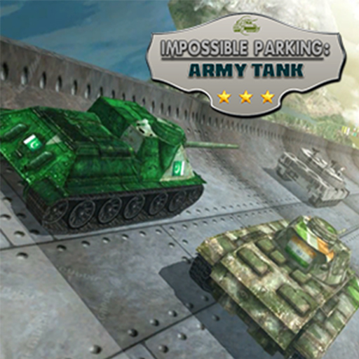 Impossible Parking : Army Tank